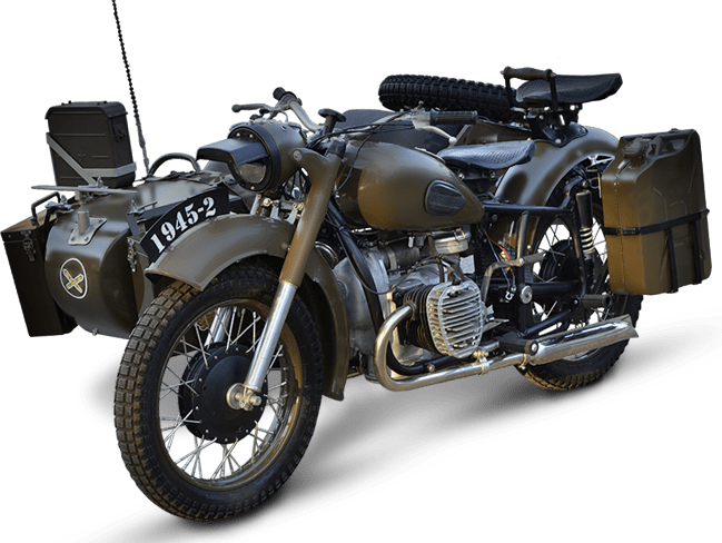 Dnepr Motors | MILITARY & VINTAGE MOTORCYCLES professionaly