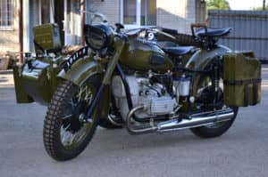 fully restored army motorcycles fjr sale