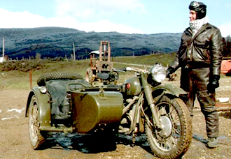 Bike military Dnepr