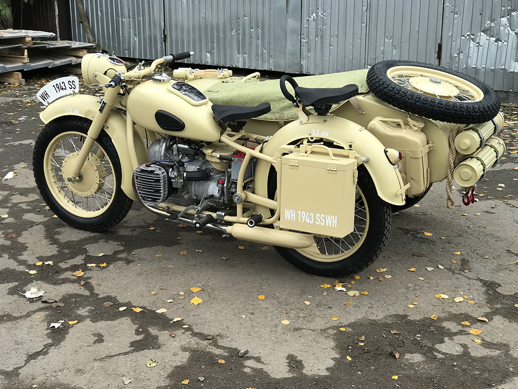 Recovered Soviet Motorcycles For Sale Dnepr Motors